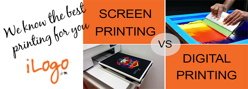What is the Difference Between Screen Printing and Digital Printing?