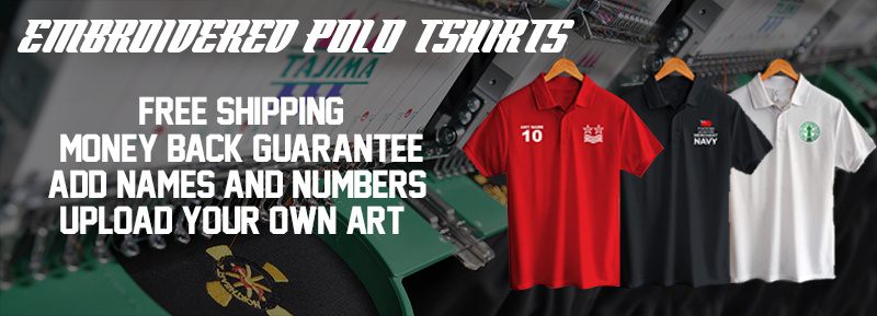 Embroidered Polo Shirts for Your Team