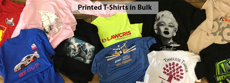 How is Price Calculated when I Print T-Shirts in Bulk