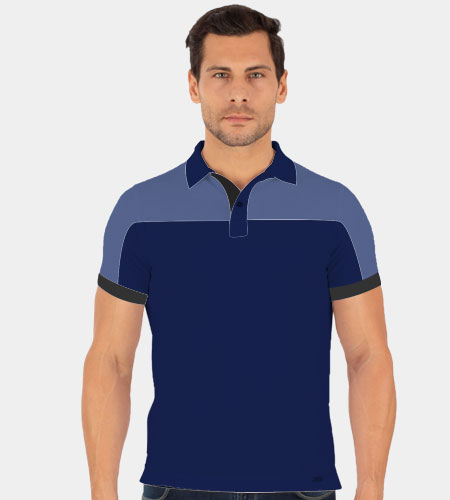 Raglan Cut & Sew Polo Shirt