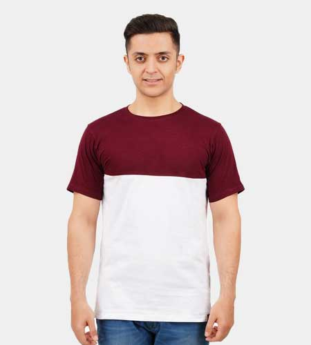 Tailormade Cut and Sew 2 Part R/N T-Shirt