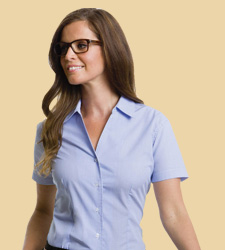 custom Women's Half sleeve Corporate Shirt