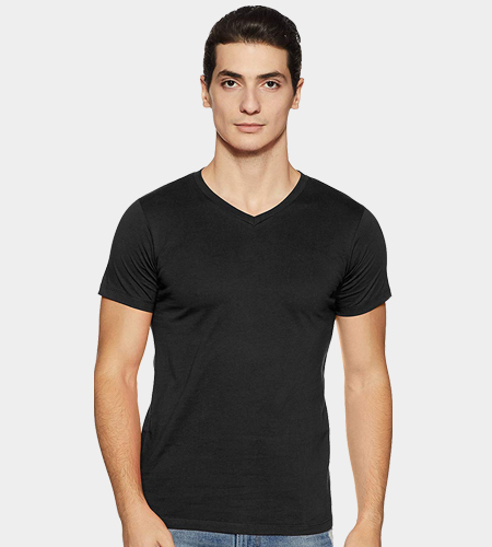custom Personalized Men's V Neck T-Shirt