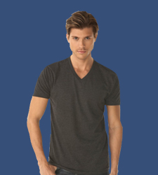Custom Men's V-Neck T-Shirt