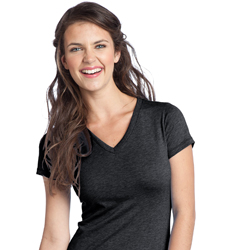 custom Women's V-Neck T-Shirt