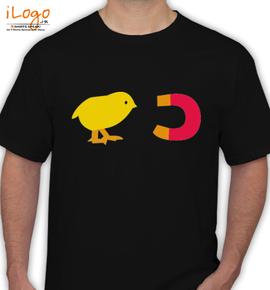 chcikmagnet medium - T-Shirt