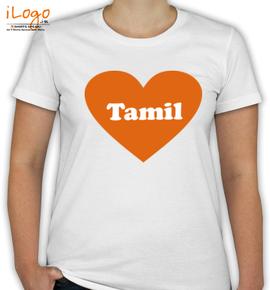 tamil-LOVE - T-Shirt [F]