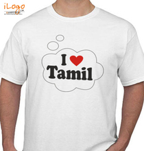 Cool I-LOVE-TAMIL T-Shirt