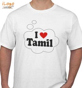 I-LOVE-TAMIL - T-Shirt