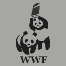 WWF-panda-wrestling T-Shirt
