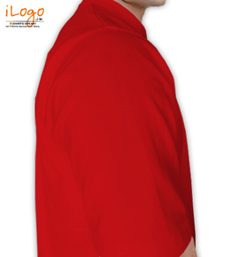 amsterdam-red-t-shirt Right Sleeve