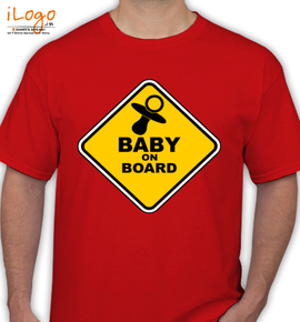 baby-on-board-sign - T-Shirt
