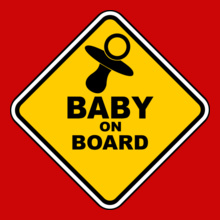 baby-on-board-sign T-Shirt