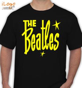 -beatles-t-shirt-the-beatles-star - T-Shirt