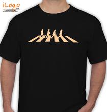 Beatles-Abbey-Road-Black-Shirt T-Shirt