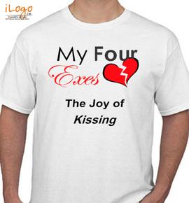 kissing - T-Shirt