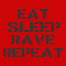eat-sleep-rave-repeat T-Shirt