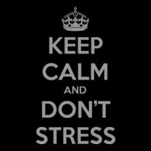 Keep-Calm-n-dont-stress T-Shirt