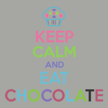 Keep-Calm-n-Eat-Chocolate T-Shirt