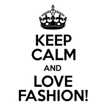 Keep-Calm-and-Love-Fashion T-Shirt