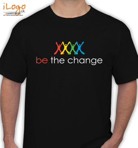 be-the-change- - T-Shirt