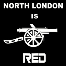 Football -india-north-london-is-red T-Shirt