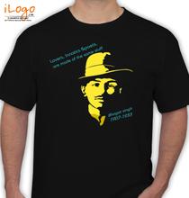 Bhagat Singh Bhagat-Singh-Punjabi- T-Shirt