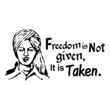 freedom-is-not-given%C-it-is-taken-shaheed-bhagat-singh T-Shirt