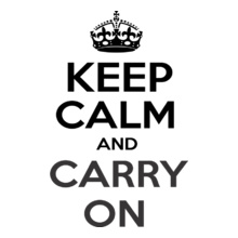 keep-calm-and-carry-on T-Shirt