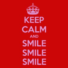 keep-calm-and-smile T-Shirt