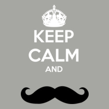 keep-calm-and-mustache T-Shirt