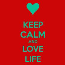 Keep Calm keep-calm-and-love-life T-Shirt