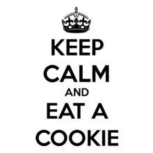 Keep Calm keep-aclm-and-eat-a-cookiea T-Shirt