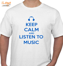 keep-calm-and-listen-music T-Shirt