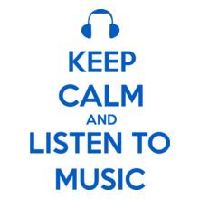 Keep Calm keep-calm-and-listen-music T-Shirt