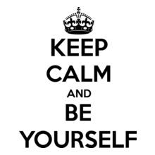 Keep Calm keep-calm-be-yourself T-Shirt