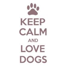 Keep Calm keep-calm-love-dogs T-Shirt