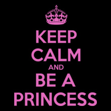 Keep Calm keep-calm-be-a-princess T-Shirt