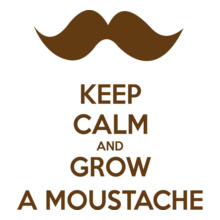 Keep Calm keep-calm-grow-a-moustache T-Shirt