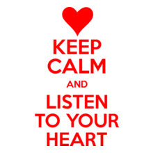 keep-calm-listen-your-heart T-Shirt