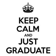 keep-calm-just-graduate T-Shirt