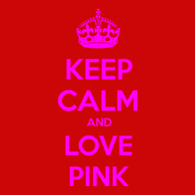 Keep Calm keep-calm-love-pink T-Shirt