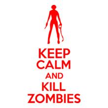keep-calm-kill-zombies T-Shirt