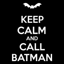 keep-calm-call-batman T-Shirt