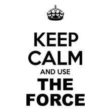 keep-calm-and-use-the-force T-Shirt
