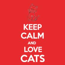 Keep Calm keep-calm-and-love-cats T-Shirt