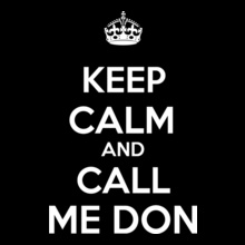 keep-calm-And-call-me-don T-Shirt