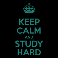 keep-calm-and-study-hard T-Shirt