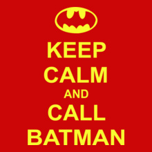 ceep-calm-and-call-batman T-Shirt