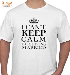 keep-kalm-married - T-Shirt